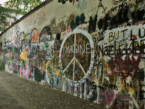 Imagine...the wall of peace and freedom.-