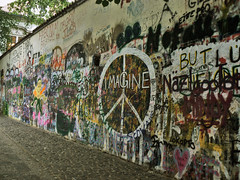 Imagine...the wall of peace and freedom.- (ancama_99(toni)) Tags: pictures street leica city trip travel vacation urban house holiday streetart color building wall architecture buildings painting geotagged lumix photography graffiti photo mural europe paint cityscape republic foto czech prague photos graf picture cityscapes prag praha praga photographic spray panasonic ciudades fotos imagine czechrepublic spraypaint graff lennon 2008 johnlennon italians urbanas citys 1000views urbanscapes ceskarepublika fotografa fotografas czechia republicacheca malstrana theczechrepublic chequia 5000views 10favs 50faves 10faves 50favs 35favs 35faves fz7 dmcfz7 25faves abigfave holidaysvacanzeurlaub thatsclassy