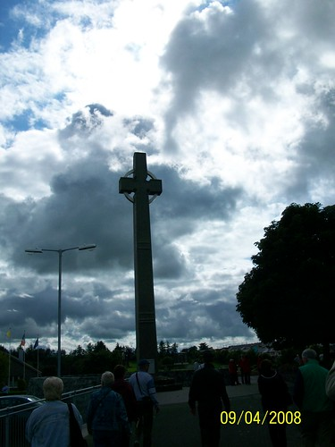 Ireland - Knock Shrine - celtic cross