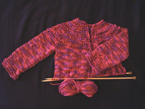 5 Hour (ha!) Baby Sweater