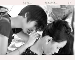 """THAI GROOMING.. A SERIOUS HOBBY??""      :-) (Maxsimus) Tags: people white black fun thailand nikon noir bangkok sigma explore grooming human passtime d300 nitpick maxsimus"