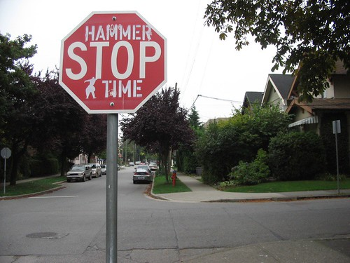 Stop - Hammer Time