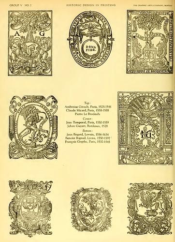 24- Marcas y emblemas de impresores y editores