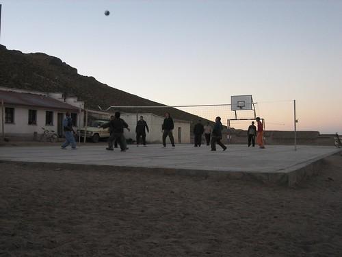 Volleyball at 4000m, Bolivia