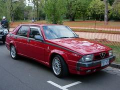 1990 Alfa 75 (Nigel Wright) Tags: alfa 75 v6