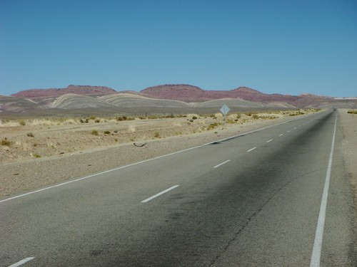 Smooth and fine cycling, south of Abra Pampa, Argentina.