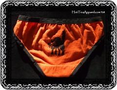 Small-Bikini-Boo-Back (hotteaapparel) Tags: halloween underwear sewing briefs bikini hotteaapparel