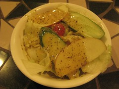 沙拉~百香果醬