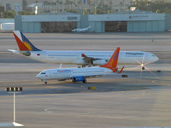 To & From Canada - McCarran Int'l Airport, NV  USA (gTarded) Tags: philippines airbus boeing airlines a340 737 340 b737 sunwing cflsw rpc3430