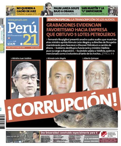 Corrupcion Peru21