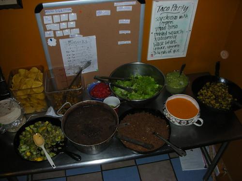 Dinner, September 29