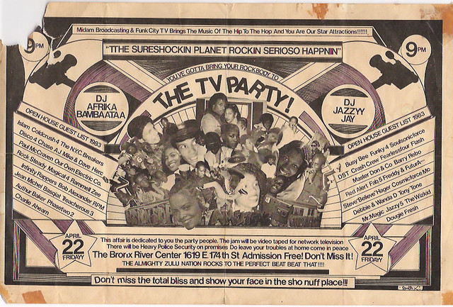 Old School Hip-Hop Flyers..