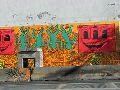 Keith Haring Style  Graffiti