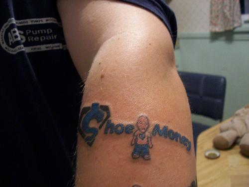 Shoemomey Tattoo