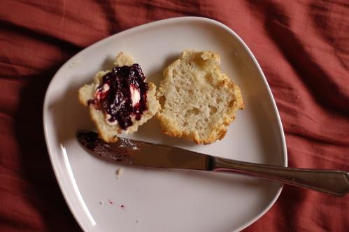 buttermilk biscuits, gluten-free