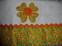 Pano de prato flor corao (Raios de Luz - Glucia Ges) Tags: cozinha patchcolagem panodeprato