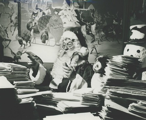 Santa Claus at Santa Claus Land (now Holiday World)