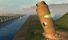 Nautilus: Control Tower (Elif Ayiter/Alpha Auer/..../) Tags: life render simulation sl secondlife immersive crete second minoan nautilus lindenlabs metaverse virtualworld immersed virtualenvironment npirl