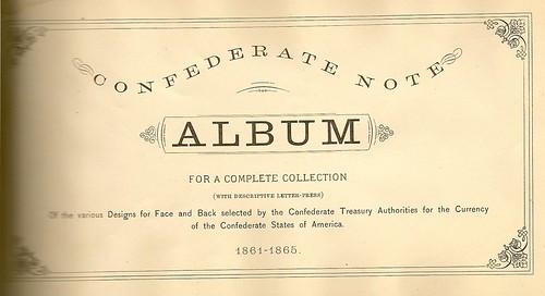 Thian Confederate Note Album
