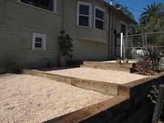 lookin' good (1540 curran street) Tags: landscape sideyard retainingwall