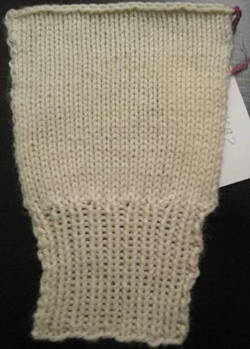Master Knitting Level 1 Swatch 2
