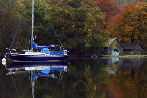Sailboat on Coniston