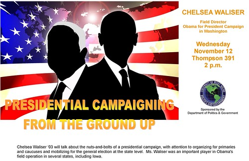 waliser, chelsea_presidential campaigning