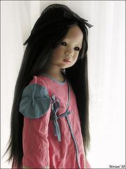 Shilin Himstedt has arrived !! (MiriamBJDolls) Tags: hat doll vinyl shilin limitededition 2007 asiatic annettehimstedt himstedtkinder summerkinder