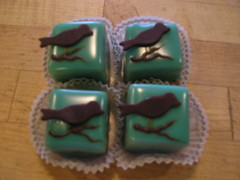 bird petit fours