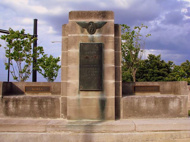 Veterans Memorial Bridge Marker