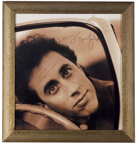 jerry seinfeld children pictures. Jerry Seinfeld Signed Poster