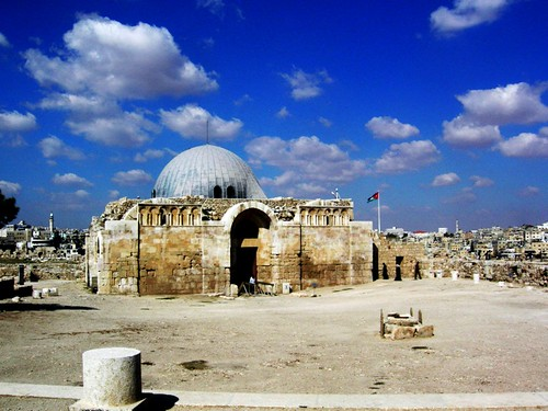 Jordan - Day 2 : Umayyad Mosque - Citadel - Amman