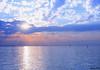 The Sun looks like a big star (Nouf Alkhamees) Tags: sunset sun color colors canon sigma alk nono غروب مدينة alkuwait الوان الكويت كويت بحر شرق nouf الخميس كانون نوف نونو alkhamees flickrlovers