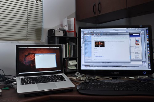 Parallels fullscreen with external monitor