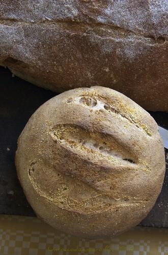 Pane integrale con pasta madre...