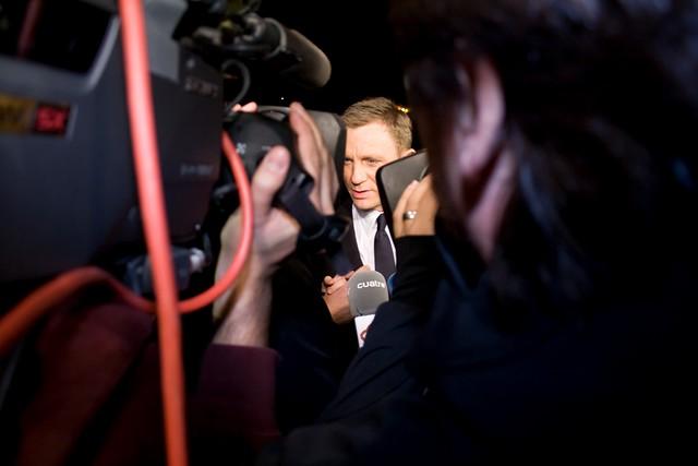 Daniel Craig by Jose Sansmorer