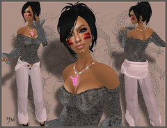 Fashion 35 (Ys Ah) Tags: secondlife maitreya sntch littleheaven theobscene pinkfuel timelessagency fashionsladdict