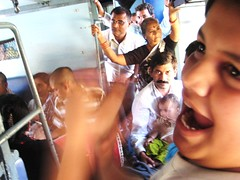 Hare Krishna chaos on the train to Sawai Madhopur, India