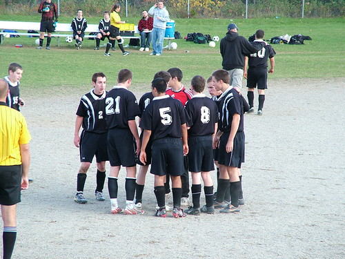 Houlton High School. Houlton high school soccer huddle! | Flickr - Photo Sharing!