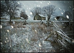 Valley Forge - Winter Arrives (mikonT) Tags: winter snow nikon pennsylvania colonial d200 americanrevolution valleyforge 1778 mikont visiongroup artistictreasurechest