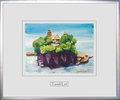 Christiaan Lupgens, Watercolor, Tanah-Lot (Farelli Bali) Tags: watercolor tanahlot christiaanlupgens