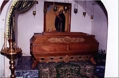 San Sabas Krypeckij (abarrero2000) Tags: saint shrine russia monk holy orthodox santo relics chuch pskov monje reliquien schrein urna reliquias reliques hieromonk chsse reliquienschrein  hieromonje ioannobogoslovskijkrypeckijmonastery