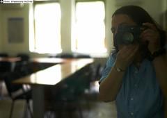 It's my Leica M8 and me (k_stoilova) Tags: leica portrait selfportrait mirror spiegel m8 summiluxm 11435mm