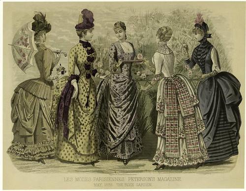 013- Les Modes parisiennes-El jardin de rosas 1886