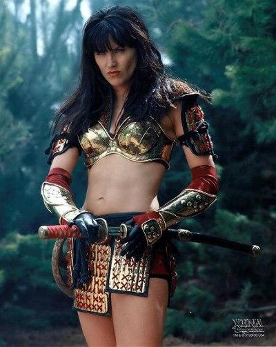 Lucy Lawless Xena samurai