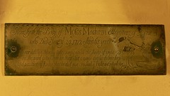 Brass engraving St Leonard - Ryton on Dunsmore