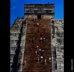 YUCATAN (stefano.sivieri) Tags: summer people selfportrait stairs stair yucatan summertime biography frizztext mywinners 16steps ourlifeisalongstairway butnottoolong