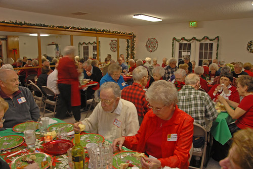Christmas party 2008 01