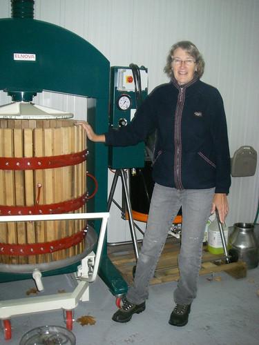 a barrel full of fermented cider