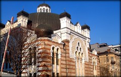 Sofia, Bulgaria.The Synagogue (one of the biggest in Europe). (Rosa Klein) Tags: religious worship sofia synagogue bulgaria jewish sinagogue sinagoga  sofiyska